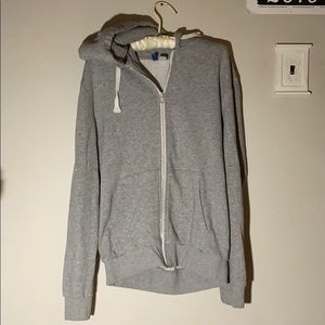 H&M Grey Zip Up